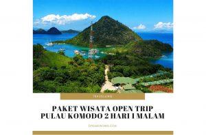 Paket Wisata Open Trip Pulau Komodo 2 Hari 1 Malam